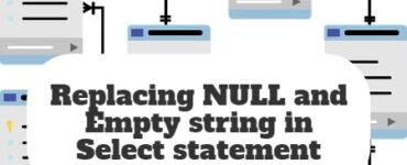 Replacing NULL and Empty string in Select statement