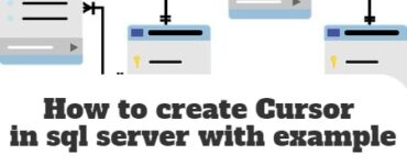 How to create Cursor in sql server with example