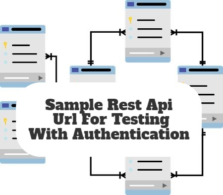 Sample Rest Api Url For Testing With Authentication